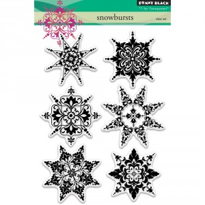 Penny Black Clear Stamps - Snowbursts