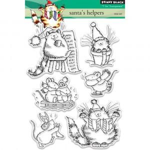 Penny Black Clear Stamps - Santas Helpers