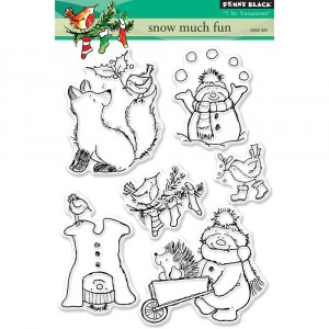 Penny Black Clear Stamps - Snow Much Fun