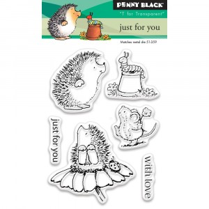 Penny Black Clear Stamps - Just For You