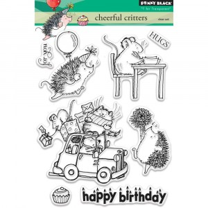 Penny Black Clear Stamps - Cheerful Critters