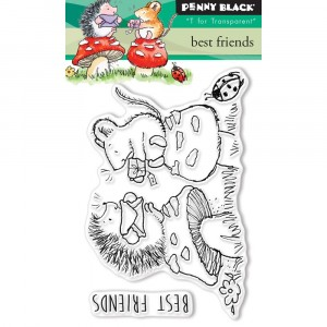 Penny Black Clear Stamps - Best Friends