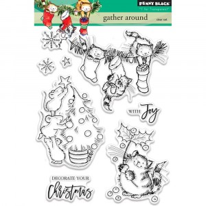 Penny Black Clear Stamps - Gather Around