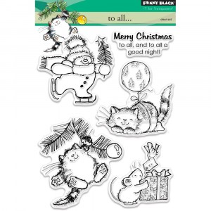 Penny Black Clear Stamps - To All...