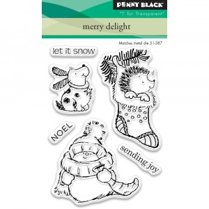 Penny Black Clear Stamps - Merry Delight