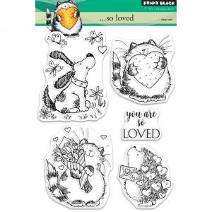 Penny Black Clear Stamps - ...so loved