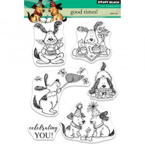 Penny Black Clear Stamps - Good Times!
