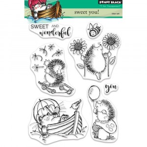 Penny Black Clear Stamps - Sweet You!
