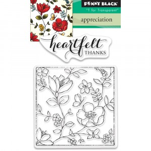 Penny Black Clear Stamps - Appreciation