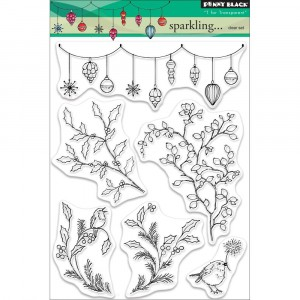 Penny Black Clear Stamps - Sparkling...