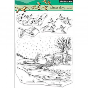 Penny Black Clear Stamps - Winter Days