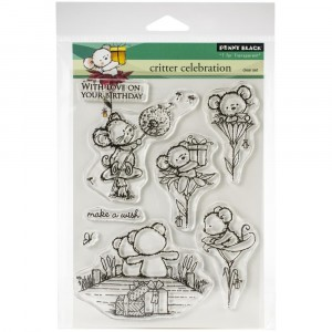 Penny Black Clear Stamps - Critter Celebration