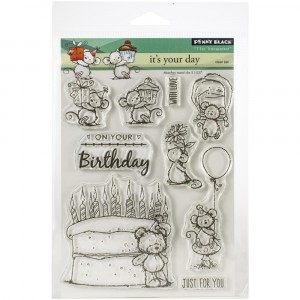 Penny Black Clear Stamps - It's Your Day