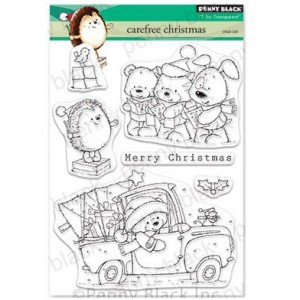 Penny Black Clear Stamps - Carefree Christmas
