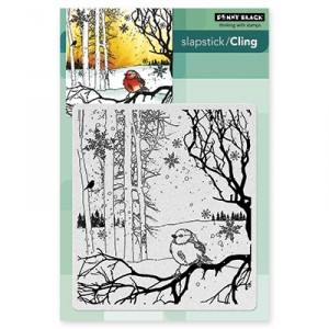 Penny Black Cling Stamps - Winter Song