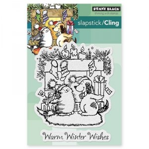 Penny Black Cling Stamps - Warm Wishes