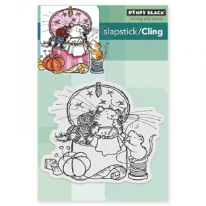 Penny Black Cling Stamps - Sew nice