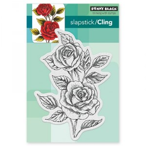 Penny Black Cling Stamps - Scented Beauty