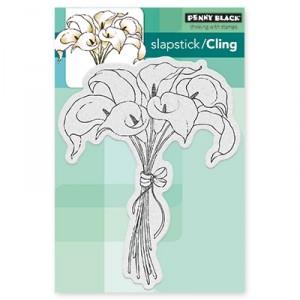 Penny Black Cling Stamps - Elegance