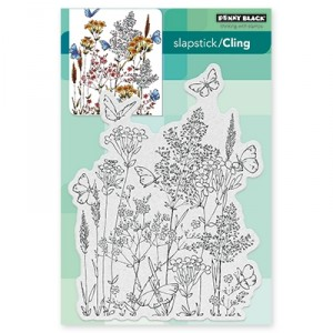 Penny Black Cling Stamps - Butterfly Dance