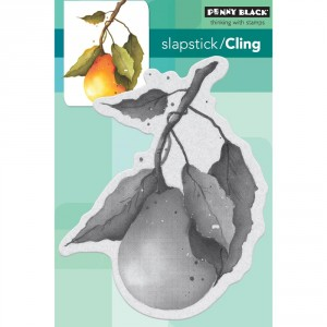 Penny Black Cling Stamps - Perfect Pear