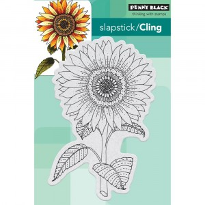 Penny Black Cling Stamps - Sun Glow