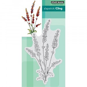 Penny Black Cling Stamps - Tranquil Buds - 20% RABATT