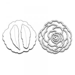 Penny Black Creative Dies Stanzschablone - Camellia