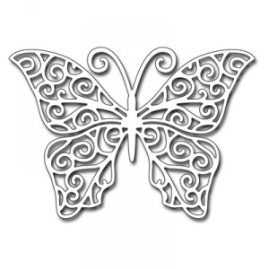Penny Black Creative Dies Stanzschablone - Swirling Wings