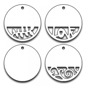 Penny Black Creative Dies Stanzschablone - Circle Tags