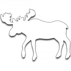 Penny Black Creative Dies Stanzschablone - Moose