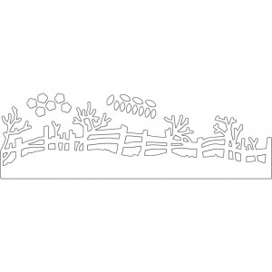 Penny Black Creative Dies Stanzschablone - Rail Fence