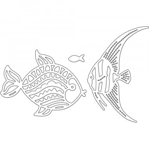 Penny Black Creative Dies Stanzschablone - Fancy Fish