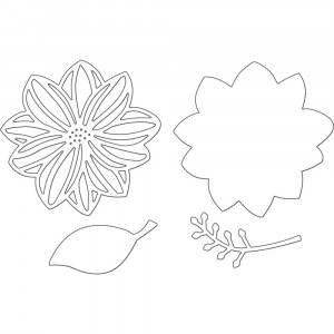 Penny Black Creative Dies Stanzschablone - Beautiful Blossom