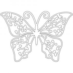 Penny Black Creative Dies Stanzschablone - Graceful Wings