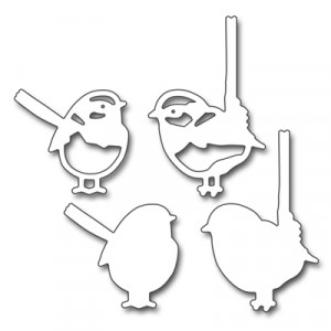 Penny Black Creative Dies Stanzschablone - Finches