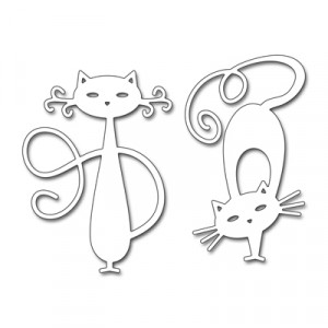 Penny Black Creative Dies Stanzschablone - Fancy Cats