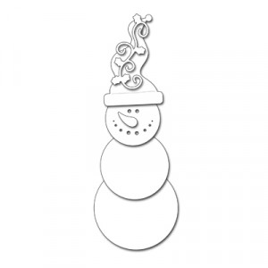 Penny Black Creative Dies Stanzschablone - Snowman Smile