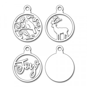 Penny Black Creative Dies Stanzschablone - Joyful Ornaments