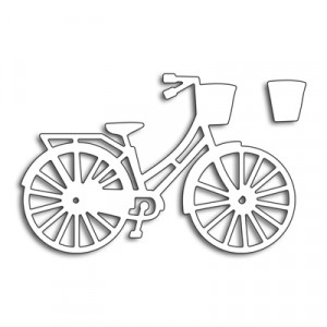 Penny Black Creative Dies Stanzschablone - Bicycle