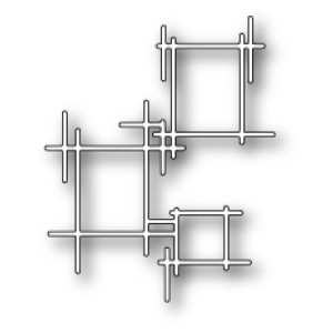 Poppy Stamps Stanzschablone - Stick Frames