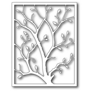 Poppy Stamps Stanzschablone - Exquisite Branch Frame