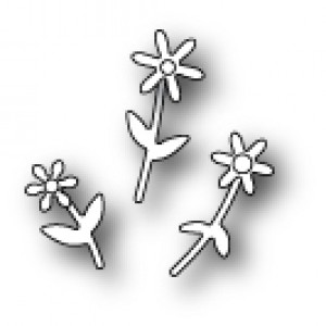 Poppy Stamps Stanzschablone - Mini Floral Bouquet