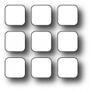 Poppy Stamps Stanzschablone - Clever Keypad