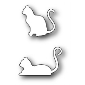 Poppy Stamps Stanzschablone - Poised Cats