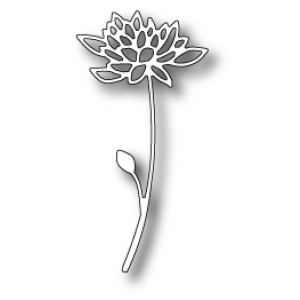 Poppy Stamps Stanzschablone - Blooming Strawflower