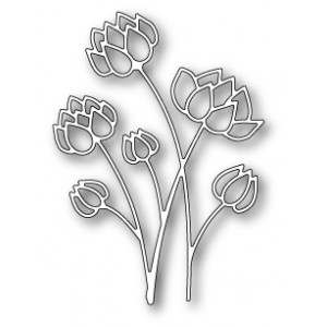 Poppy Stamps Stanzschablone - Prairie Thistle