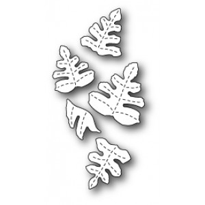 Poppy Stamps Stanzschablone - Monterey Leaves