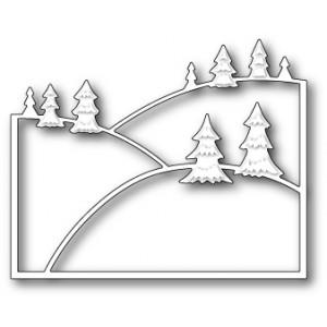 Poppy Stamps Stanzschablone - Evergreen Hillside