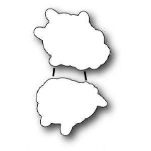 Poppy Stamps Stanzschablonen-Set - Wool Be Friends